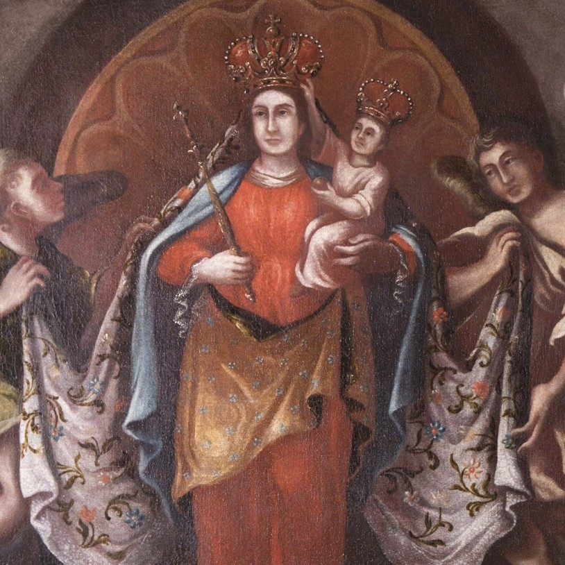 Virgin Mary of Křtiny