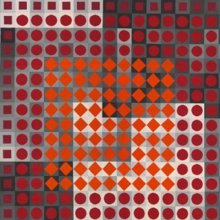 Views into the collections IV. | Victor Vasarely | New Acquisition I, II