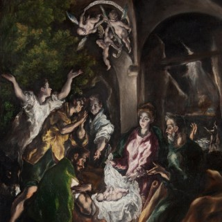 Museum of Art is looking characters from El Greco painting