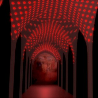 The Gothic Cloister will fill Red audiovisual installation