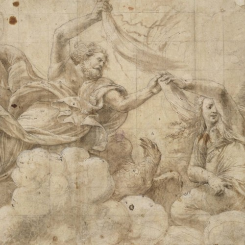 Drawings of old masters from the collection of the Archbishopric of Olomouc
