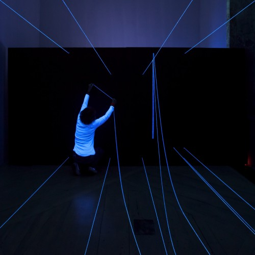 The glowing active zone takes you through the secrets of perspective