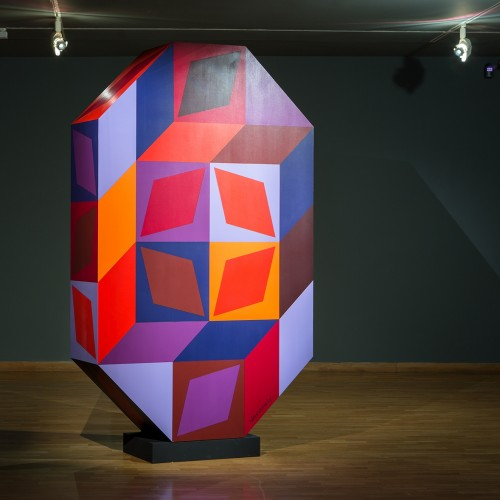 Vasarelys sculpture and SEFO 3D model will be seen until Sunday