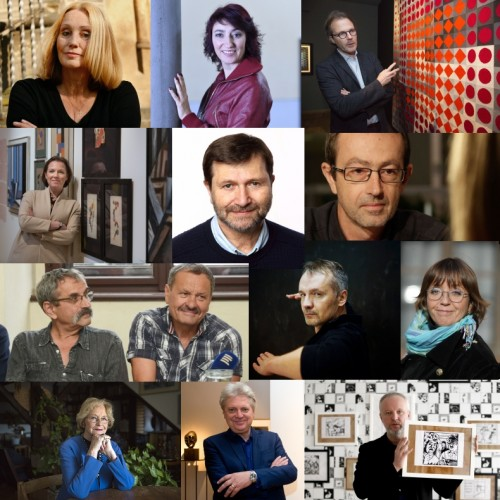 Purchla, Vasarely, Król, Lodder, Forgacs and other supporting Olomouc Museum of Art