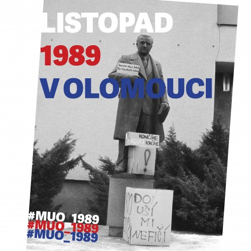 Join our project November 1989 in Olomouc!