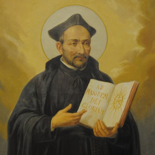 The lecture on Ignatius of Loyola is canceled