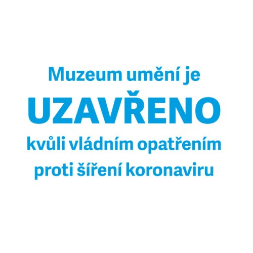 The Olomouc Museum of Art is closed until further notice due to coronavirus