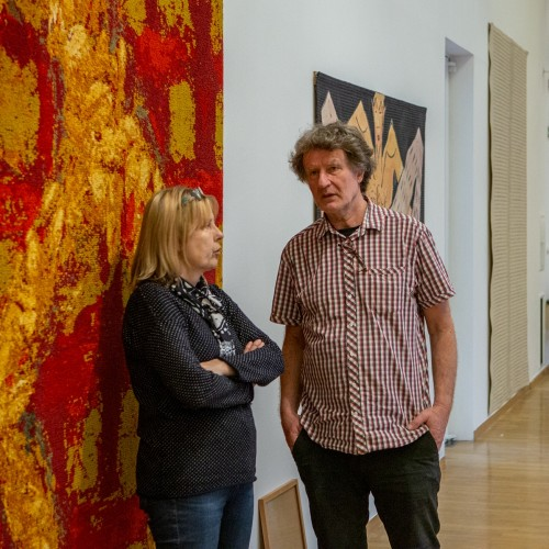 The art of tapestry with J.T. Stryček